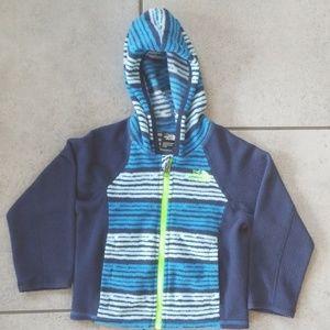 Toddler boys Blue North Face Fleece Jacket